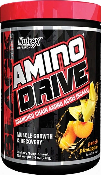 Nutrex Amino Drive - 30 Servings Peach Pineapple