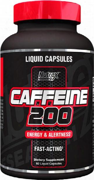 Nutrex Caffeine 200 - 60 Liquid Capsules