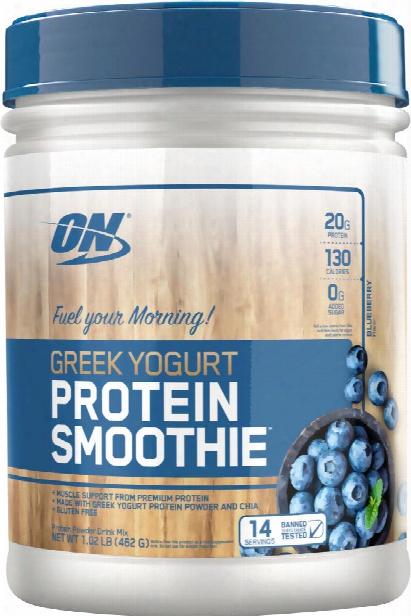 Optimum Nutrition Greek Yogurt Protein Smoothie - 14 Servings Blueberr