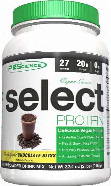 Pescience Select Vegan Protein - 27 Servings Chocolate Bliss