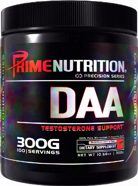 Prime Nutrition Daa - 100 Servings Unflavored