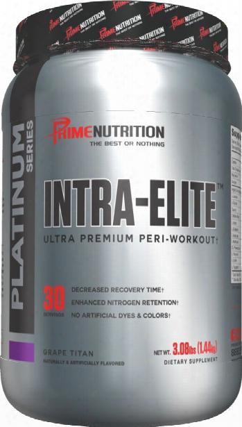 Prime Nutrition Intra Elite - 30 Servings Grape Titan