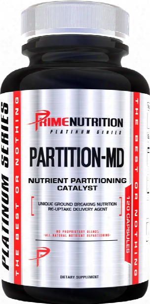 Primr Nutrition Partition-md - 120 Capsules