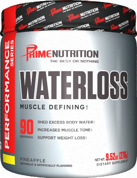 Prime Nutrition Waterloss - 90 Servings Pineapple