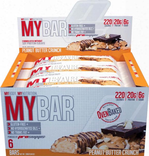 Prosupps Mybar - Box Of 6 Ice Cream Cookie Crunch