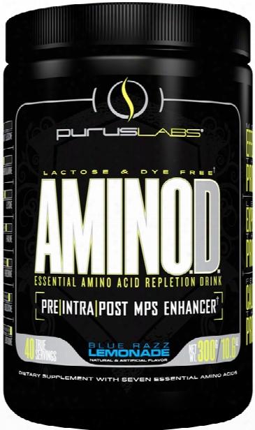 Purus Labs Aminod - 40 Servings Blue Razz Lemonade