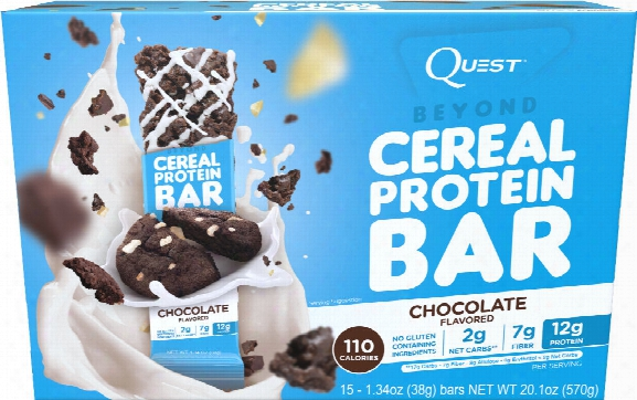 Quest Nutrition Beyond Cereal Bar - Box Of 15 Chocolate