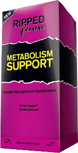 Ripped Femme Metabolism Support - 60 Capsules