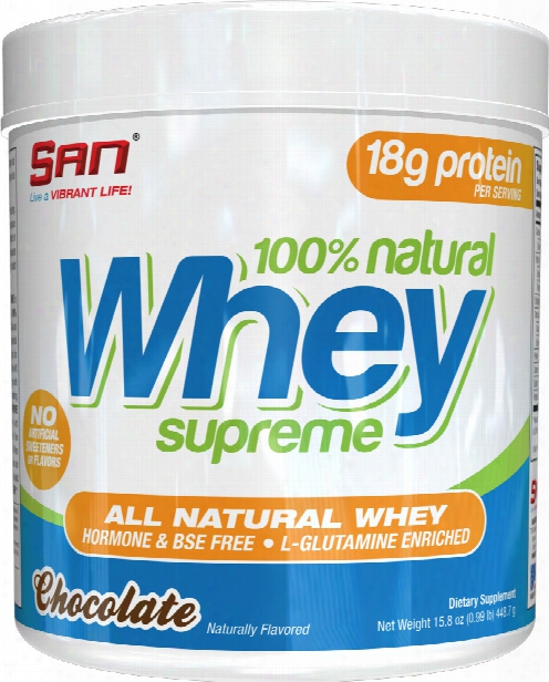 San 100% Natural Whey - 1lb Chocolate