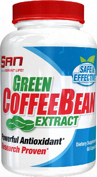 San Green Coffee Bean Extract - 60 Capsules
