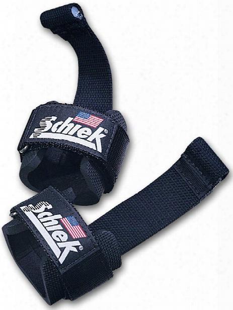 Schiek Sports Model 1000dls Dowel Lifting Straps - One Size Black