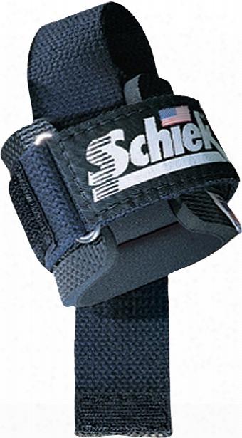 Schiek Sports Model 1000pls Power Lifting Straps - One Size Black