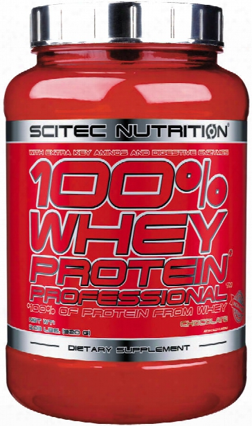 Scitec Nutrition 100% Whey Protein Professional - 30 Servings Vanilla