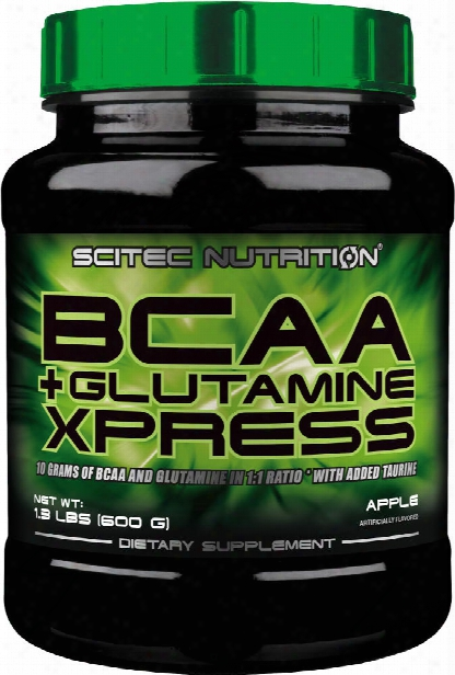 Scitec Nutrition Bcaa+glutamine Xpress - 50 Servings Apple