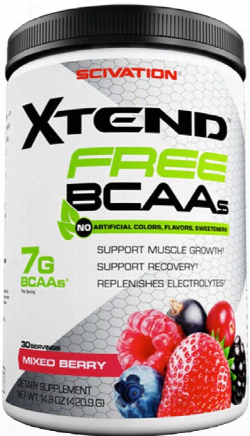 Scivation Xtend Free - 30 Servings Crisp Apple