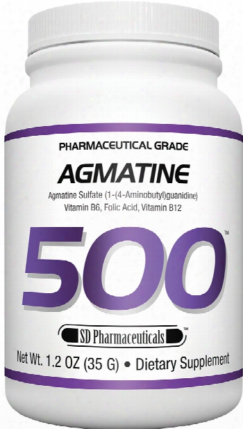 Sd Pharmaceuticals Agmatine 500 - 35g Unflavored