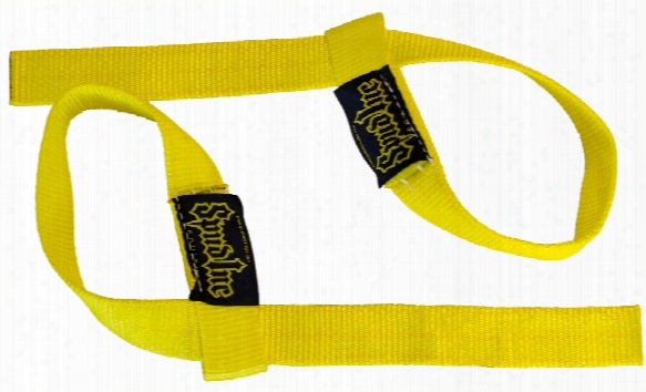"Spud Inc. Wrist Straps - 1.5"" Pair Yellow"