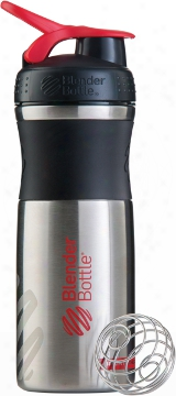 Sundesa Sportmixer Stainless - 28oz Black/red