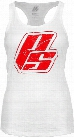 ProSupps Fitness Gear Strong Burnout Tank - White Small