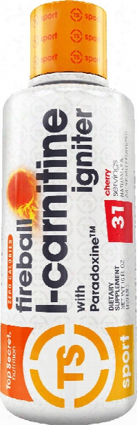 Top Secret Nutrition Fireball L-carnitine Igniter - 31 Servings Candy