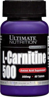 Ultimate Nutrition L-carnitine 500 - 60 Tablets