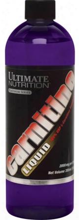 Ultimate Nutrition Liquid L-carnitine - 12oz Unflavored
