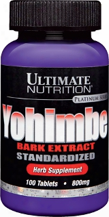 Ultimate Nutrition Yohimbe Bark Extract - 100 Tablets