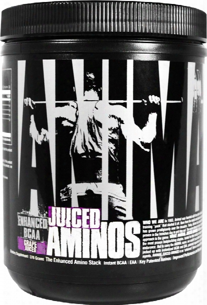 Universal Nutrition Juiced Aminos - 30 Servings Grape Juiced