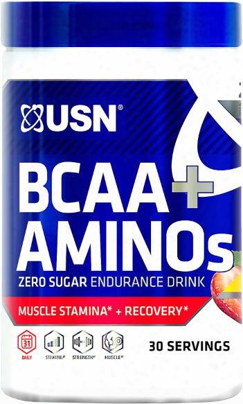Usn Bcaa Amino Plus - 30 Servings Fruit Punch