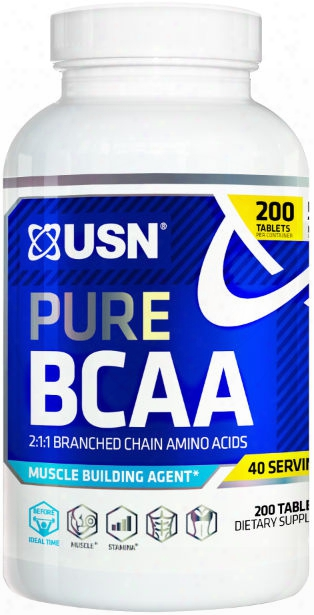 Usn Pure Bcaa - 200 Tablets