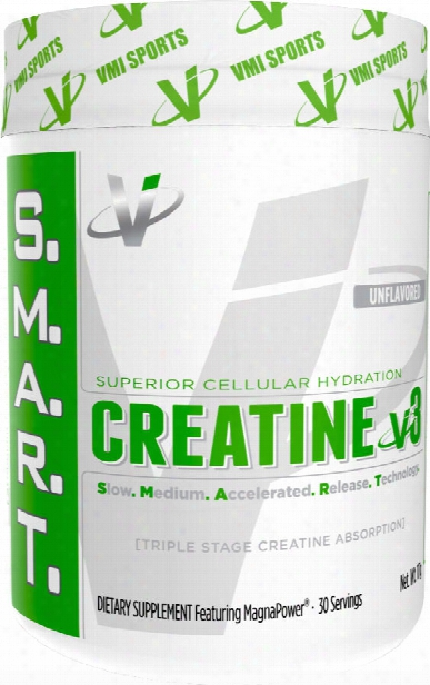 Vmi Sports S.m.a.r.t. Creatine V3 - 30 Servings Unflavored