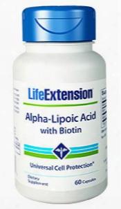 Alpha-lipoic Acid, 250 Mg, 60 Capsules