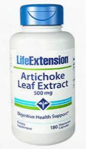Artichoke Leaf Extract, 500 Mg, 180 Vegetarian Capsules