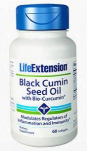 Black Cumin Seed Oil With Bio-curcuminâ®, 60 Softgels