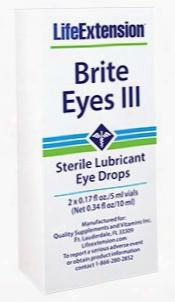 Brite Eyes Iii, 2 X 0.17 Fl Oz./5 Ml Vials (net 0.34 Fl Oz/10 Ml)