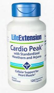 "Cardio Peakâ""¢ With Standardized Hawthorn And Arjuna, 120 Vegetarian Capsules"