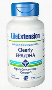 Clearly Epa/dha, 120 Softgels