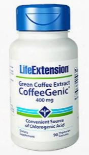 Coffeegenicâ® Green Coffee Extract, 400 Mg, 90 Vegetarian Capsules