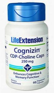 Cognizinâ® Cdp-choline Caps, 250 Mg, 60 Vegetarian Capsules