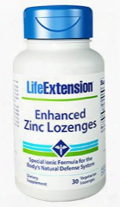 Enhanced Zinc Lozenges, 30 Vegetarian Lozenges