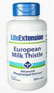 European Milk Thistle, 120 Softgels