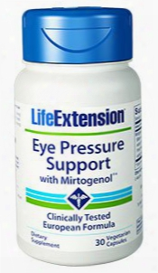 Eye Pressure Support With Mirtogenolâ®, 30 Vegetarian Capsules