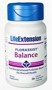 Florassistâ® Balance, 30 Liquid Vegetarian Capsules