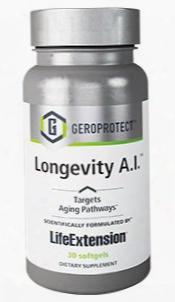 "Geroprotectâ""¢ Longevity A.i.â""¢, 30 Softgels"