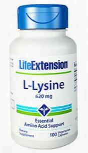 L-lysine, 620 Mg, 100 Vegetarian Capsules