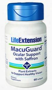 Macuguardâ® Ocular Support With Saffron, 60 Softgels