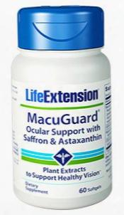 Macuguardâ® Ocular Support With Saffron & Astaxan Thin, 60 Softgels