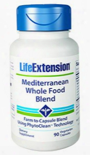 Mediterranean Whole Food Blend, 90 Vegetarian Capsules