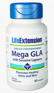 Mega Gla With Sesame Lignans, 60 Softgels