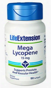 Mega Lycopene, 15 Mg, 90 Softgels